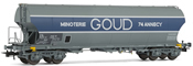 SNCF, Round-sided hopper wagon Goud