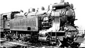 French steam locomotive 141 TA 476 of the SNCF; period III