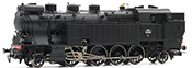 French steam locomotive 141 TA 476 of the SNCF; period III; DC Digital with Sound