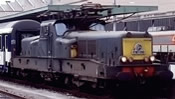 French Electric locomotive class BB 13041 of the SNCF