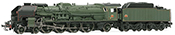 French steam locomotive 241 P of the SNCF; tender 34 P; DC Digital with Sound
