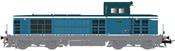French Diesel locomotive BB 66105 of the SNCF (DCC Sound Decoder)