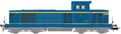 French Diesel locomotive class BB 66047 of the SNCF