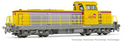 French Diesel locomotive class BB 669216 Infra of the SNCF