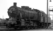 French Steam locomotive 040 of the SNCF