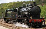 French Steam locomotive 140 C 38, with tender 18 B 22 (Est) of the SNCF (DCC Sound Decoder)