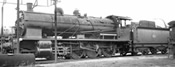 French Steam locomotive 140 C 362, with tender 18 C 550 of the SNCF