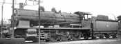 French Steam locomotive 140 C 362, with tender 18 C 550 of the SNCF (DCC Sound Decoder)
