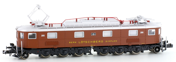 Kato HobbyTrain Lemke H10182 - Swiss 8-axle Electric Locomotive Ae 6/8 of the SBB