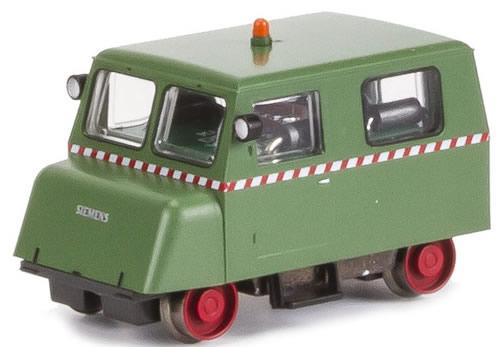 Kato HobbyTrain Lemke H14504 - KLV 12 Siemens industrial railway with warning light green