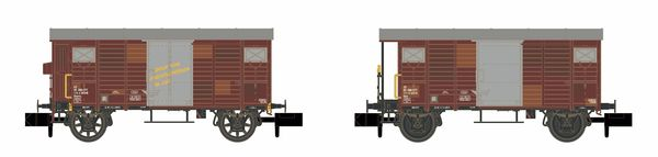 Kato HobbyTrain Lemke H24202 - 2pc. Freight car set K2