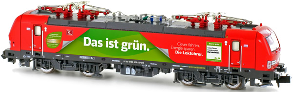 Kato HobbyTrain Lemke H2996 - German Electric locomotive class 193 of the DB Cargo