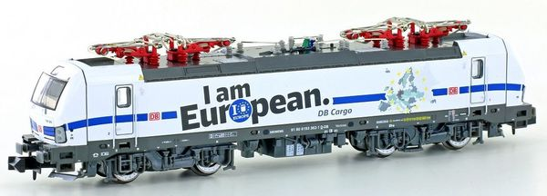 Kato HobbyTrain Lemke H3005 - German Electric locomotive BR193 I am European, of the DB Cargo