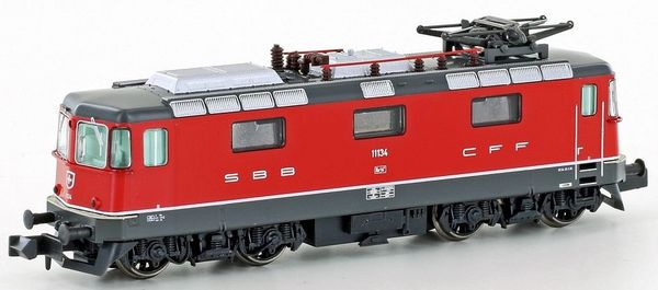 Kato HobbyTrain Lemke H3021 - Swiss Electric Locomotive Re4 / 4 II of the SBB - red