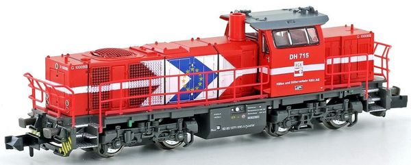 Kato HobbyTrain Lemke H3076 - German Diesel locomotive Vossloh G1000 BB of the HGK