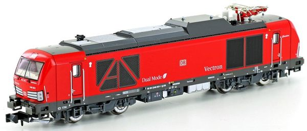 Kato HobbyTrain Lemke H3121S - German Electric Locomotive Dual Mode Vectron, of the DB AG, DB Design (Sound)