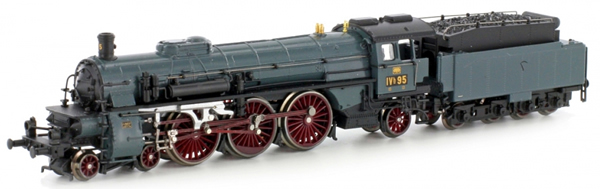 Kato HobbyTrain Lemke H4009D - German Steam Locomotive BR 183 Badische - Digital