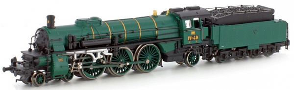 Kato HobbyTrain Lemke H4010D - German Steam Locomotive BR 183 Badische - Digital