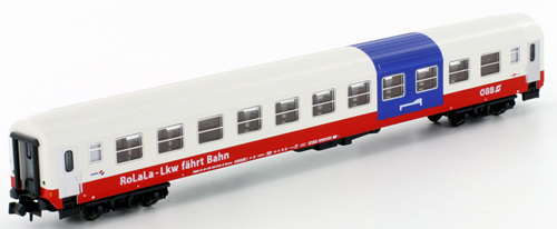 Kato HobbyTrain Lemke K23207 - Austrian Express Train Passenger Car RoLaLa of the ÖBB
