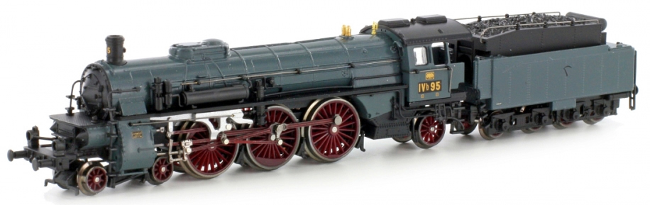 Kato HobbyTrain Lemke H4009D - German Steam Locomotive BR
