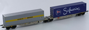 Swiss Container Wagon Set Sggmrss 90