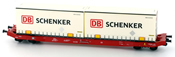 German Container Wagon SGKKMS698 DB Shenker Container