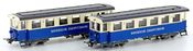 2pc Zugspitzbahn Supplement Passenger Coaches