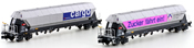 2pc Freight Car Set Tagnppss Sugar trolley - le sucre