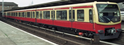 2pc Supplement Car Set 1 BR 481 S-Bahn Berlin Gmbh Quarter Train - Non-motorized