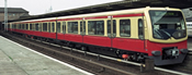 2pc Supplement Car Set 2 BR 481 S-Bahn Berlin Gmbh Quarter Train - Non-motorized