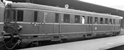 German Diesel Railcar VT25 / VS145 of the DB