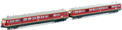 German 2pc Diesel Railbus Limburger Zigarre ETA 517 / ESA 817 of the DB - Sound