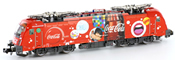 Electric Locomotive 1216 Coca Cola