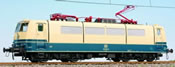 German Electric Locomotive BR 181 001-9 of the DB