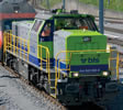 Swiss Diesel Locomotive Vossloh G 1700 of the BLS