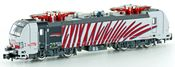 Swiss Electric Locomotive BR 187 Traxx 140AC3 of the BLS