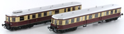 German 2pc Diesel Railcar Set DMUs VT137/VS145 of the DRG with Sound