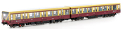 German 2-unit Set S-Bahn Berlin Baureihe 480 of the DB AG