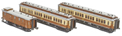 3pc. CIWL Set 1 Simplon-Express - AC Version