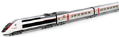 French 10pc Electric TGV POS Lyria 4402 of the SNCF/SBB