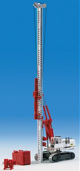 Kibri 11253 - H0 LIEBHERR 974 with ram- and pulley attachment