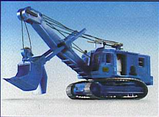 Kibri 11265 - H0 MENCK excavator with face shovel