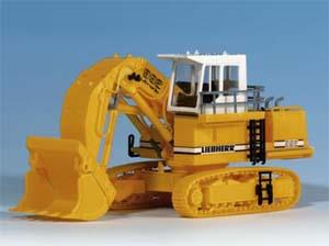 Kibri 11277 - H0 LIEBHERR R992 Litronic hydraulic excavator withface shovel