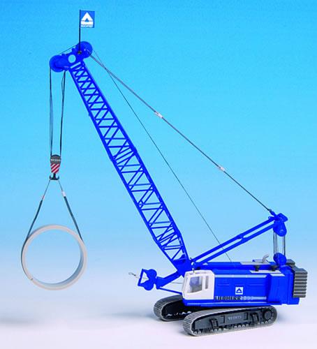 Kibri 13035 - H0 LIEBHERR 883 cable excavator with ballastand hook