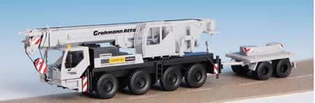Kibri 13037 - H0 LIEBHERR LTM 1050/4 with ballast trailer