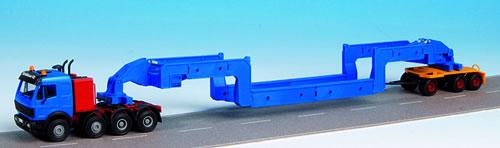 Kibri 13585 - H0 MB SK heavy truck with SCHEUERLE vessel bridge **discontinued**