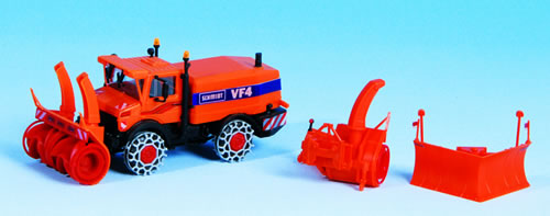 Kibri 15011 - H0 Unimog Schneefraese m.Wint
