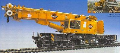 Kibri 16000 - H0 Telescopic crane GOTTWALD GS 100.06 T