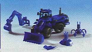 Kibri 18455 - Mobile Excavator THW