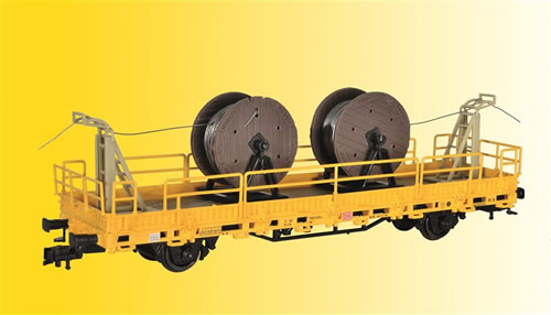 Kibri 26266 - H0 Catenary system mounting unit, finished model